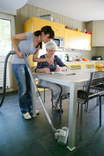 domestic help for the over 65's